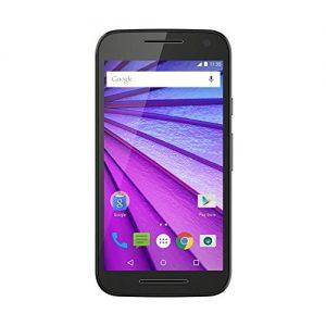 "Motorola Moto G (3ª Generación) - Smartphone libre Android 6 (4G, pantalla 5"", cámara 13 Mp, 16 GB, Quad Core 1.4 GHz, 2 GB de RAM), negro"