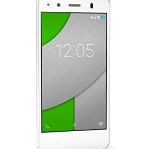 BQ Aquaris A4.5 - Smartphone de 4.5 pulgadas (WiFi, Bluetooth, Quad Core A53 1 GHz, 16 GB de memoria interna, 1 GB de RAM, Android 5.1.1 Lollipop), color blanco