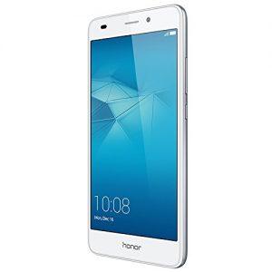 "Honor 5C - Smartphone libre de 5.2"" (Android, cámara 13 MP, 16 GB, Octa-Core 2 GHz, 2 GB RAM), color plateado"