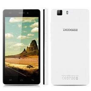 "Doogee X5 - Smartphone Libre 3G Android 5.1 (Quad Core, 5.0"" IPS 1280*720 HD, 1GB RAM, 8GB ROM, 5.0MP Cámara, Dual SIM, GPS, OTG) Celular (Blanco)"
