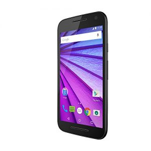 "Motorola Moto G (3ª Generación) - Smartphone libre Android 6 (4G, pantalla 5"", cámara 13 Mp, 8 GB, Quad Core 1.4 GHz, 1 GB de RAM), negro"