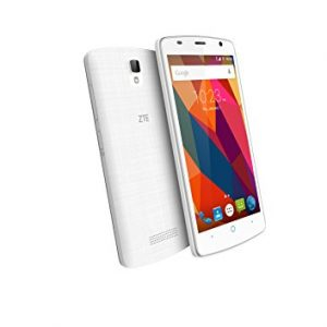 """ZTE Blade L5 Plus - Smartphone libre de 5"""" (3G, MediaTek MTK6580, 1 GB de RAM, almacenamiento interno de 8 GB, Bluetooth, WiFi, Android), color blanco"""
