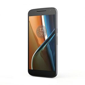 Lenovo Moto G4 - Smartphone libre Android 6 (pantalla de 5.5'' Full HD, 4G, cámara de 13 MP, 2 GB de RAM, 16 GB, Qualcomm Snapdragon 1.5 GHz), color negro